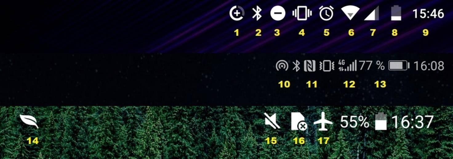 Android-Statusleiste