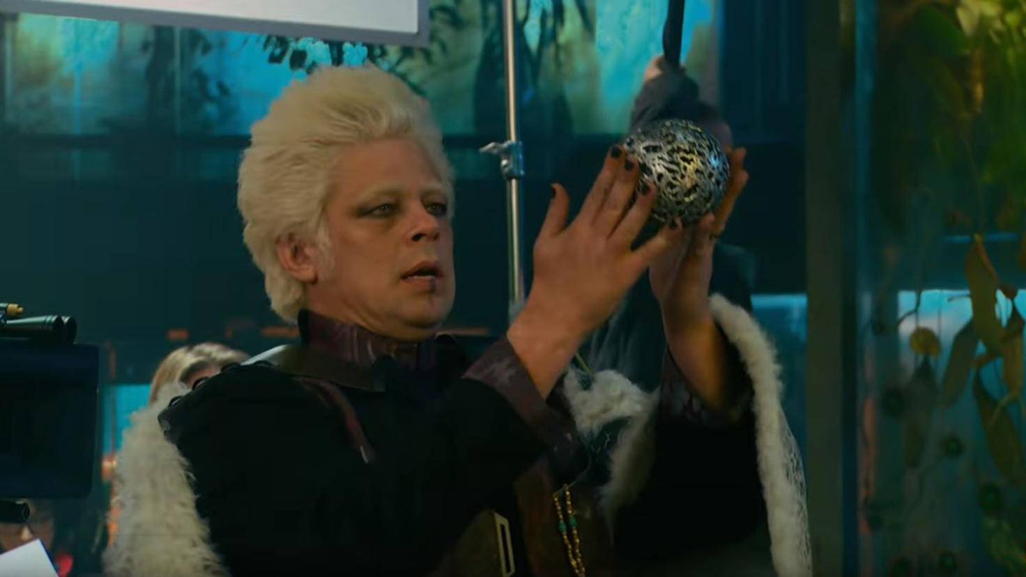 Collector mit Orb in Guardians of the Galaxy