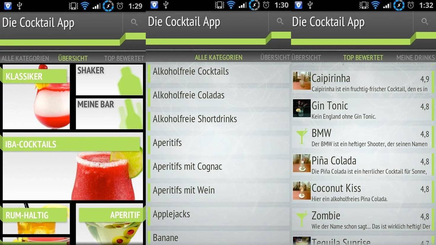 Die Cocktail App-Google PlayStore-HEROX-IT