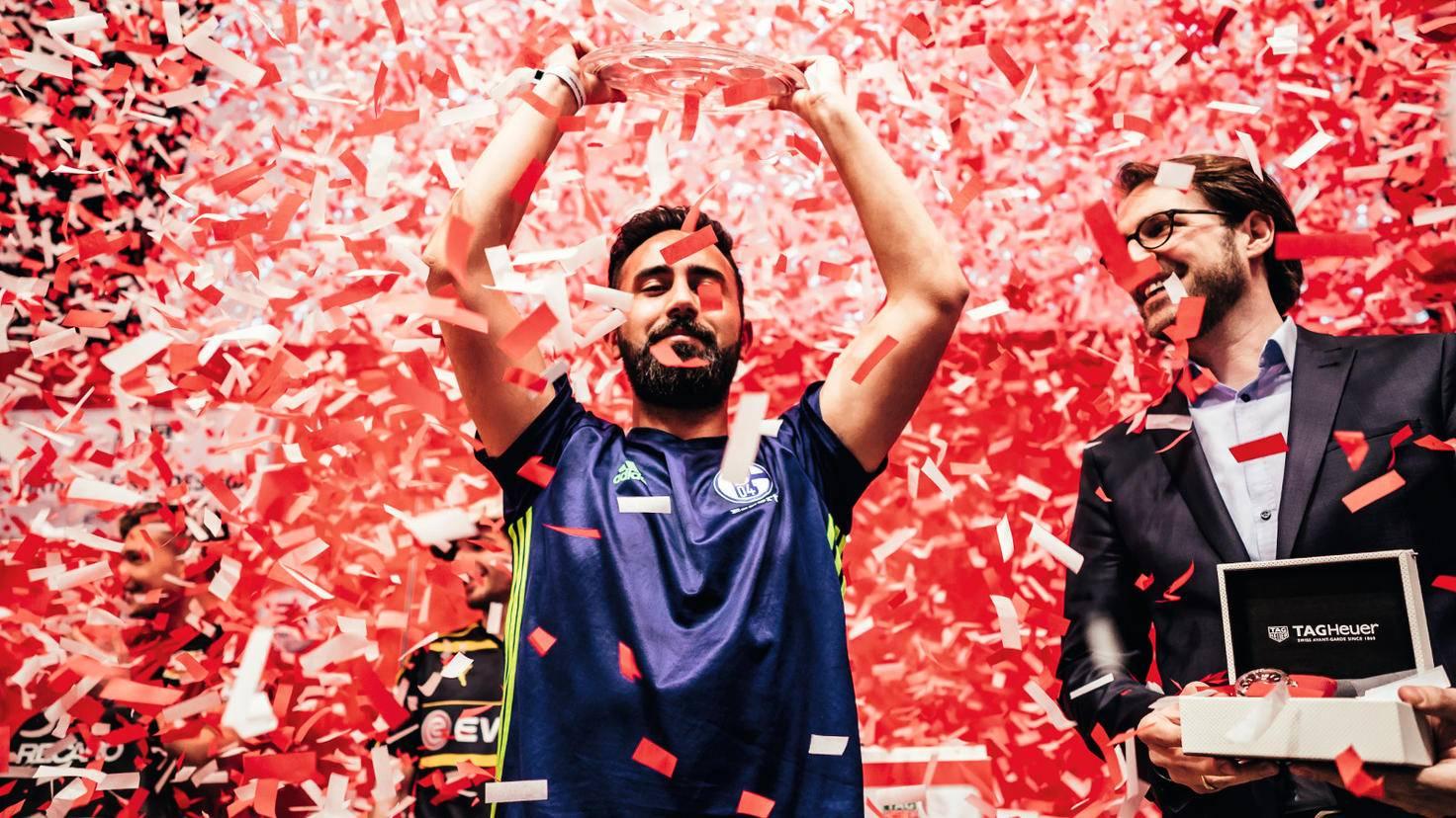 Champion: Cihan Yasarlar ist seit April amtierender Deutscher Meister der Virtuellen Bundesliga.