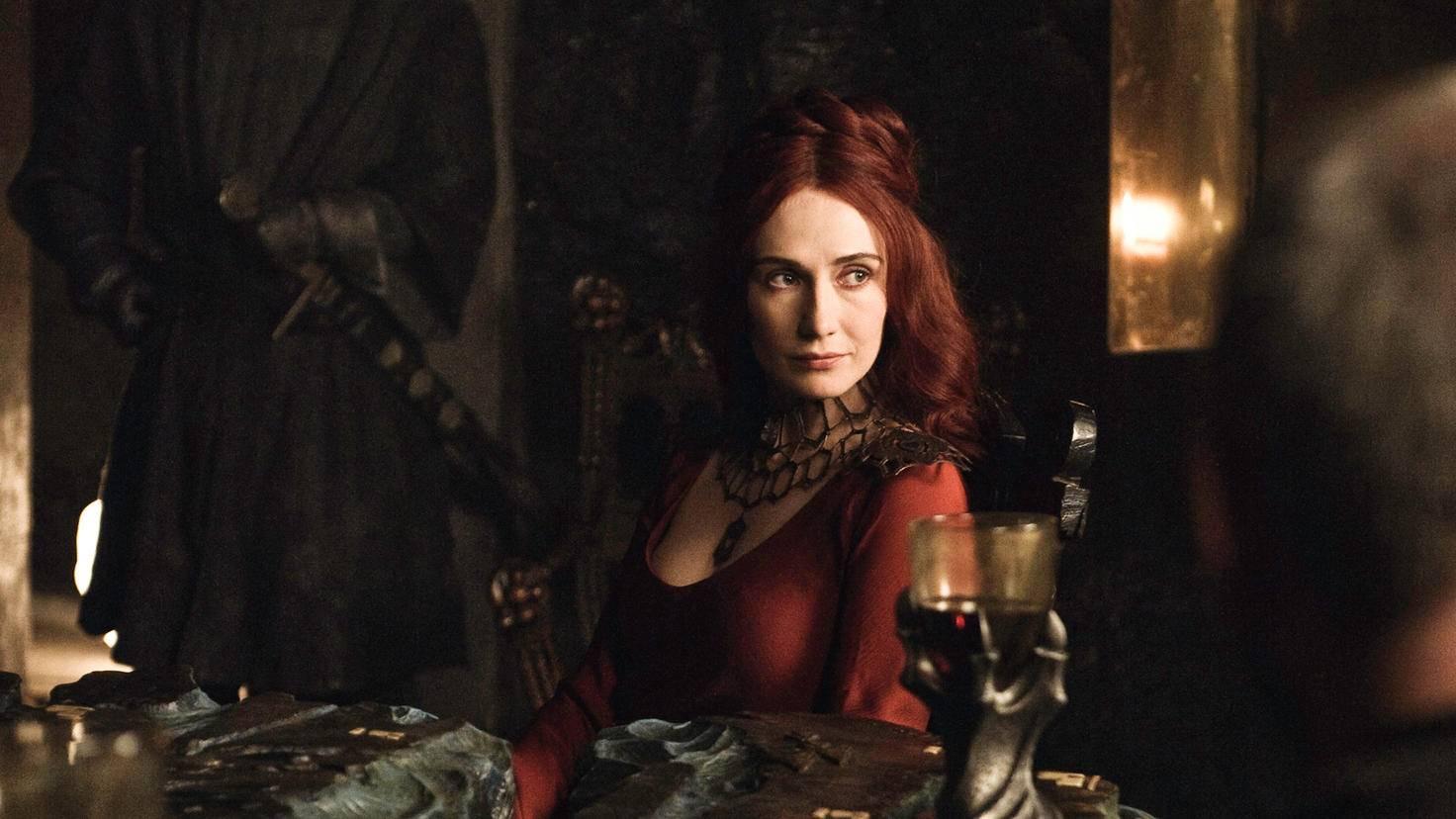 Lady Melisandre steht auf der Abschussliste von Ser Davos.