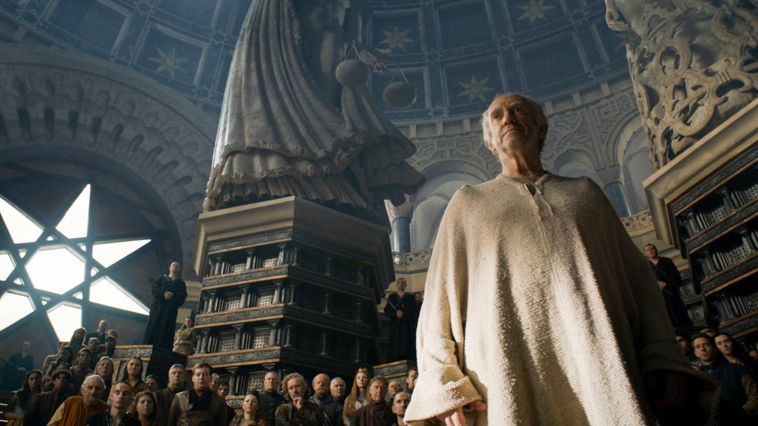 In der Großen Septe wird Margaery und ihrem Bruder der Prozess gemacht.