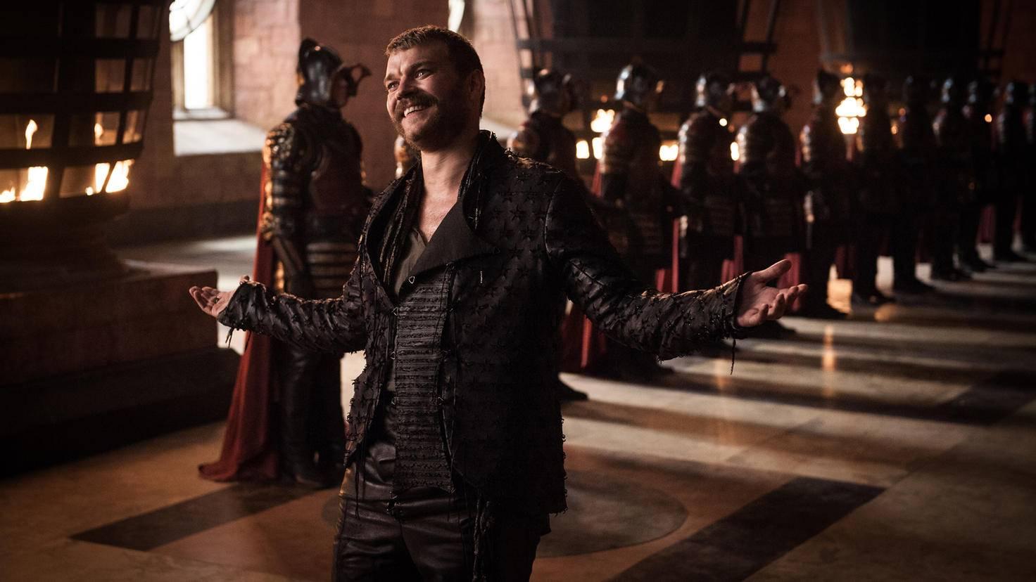 Na, was hat Euron Graufreud wohl für Cersei im Gepäck?