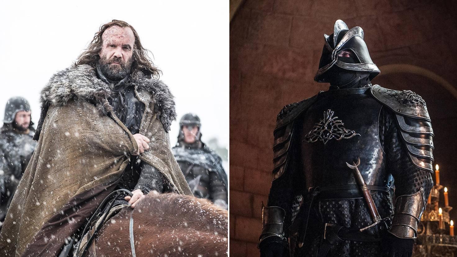 """Auf das Duell der Clegane-Brüder warten """"Game of Thrones""""-Fans ganz gespannt."""