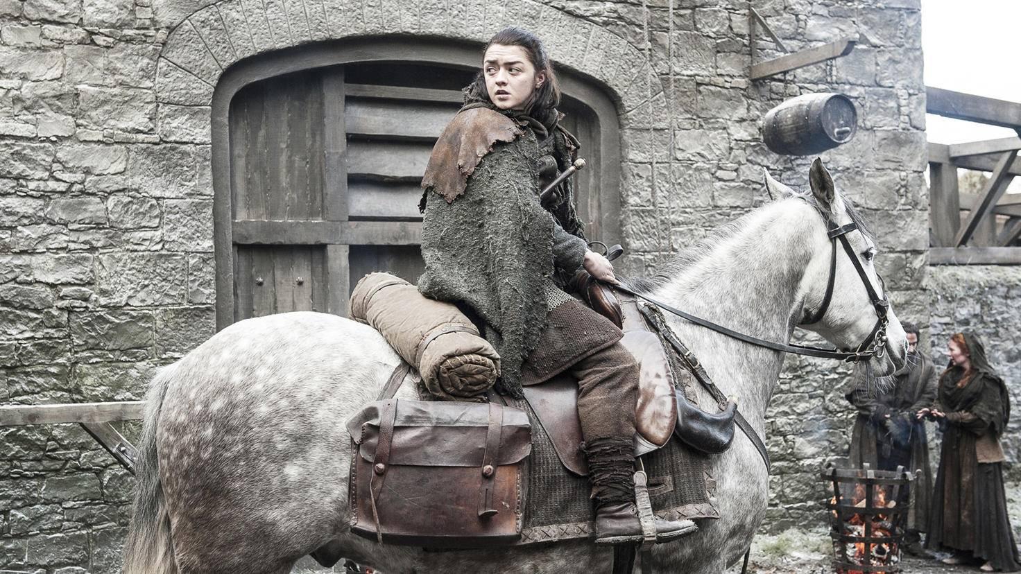 Königsmund oder Winterfell? Arya muss eine Entscheidung treffen.