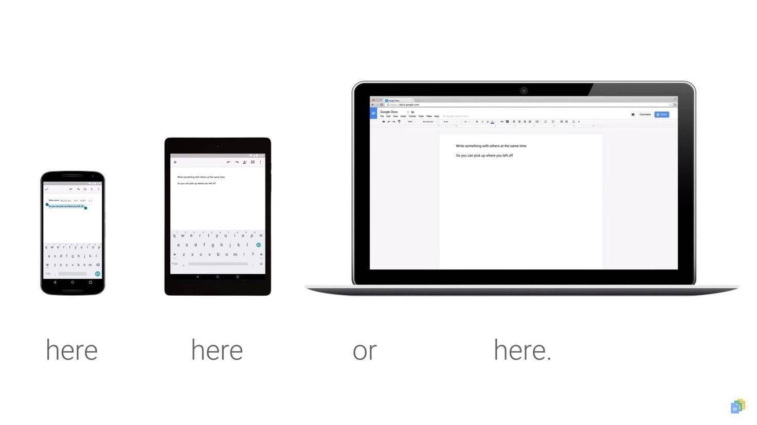Google-Docs-Synchronisation