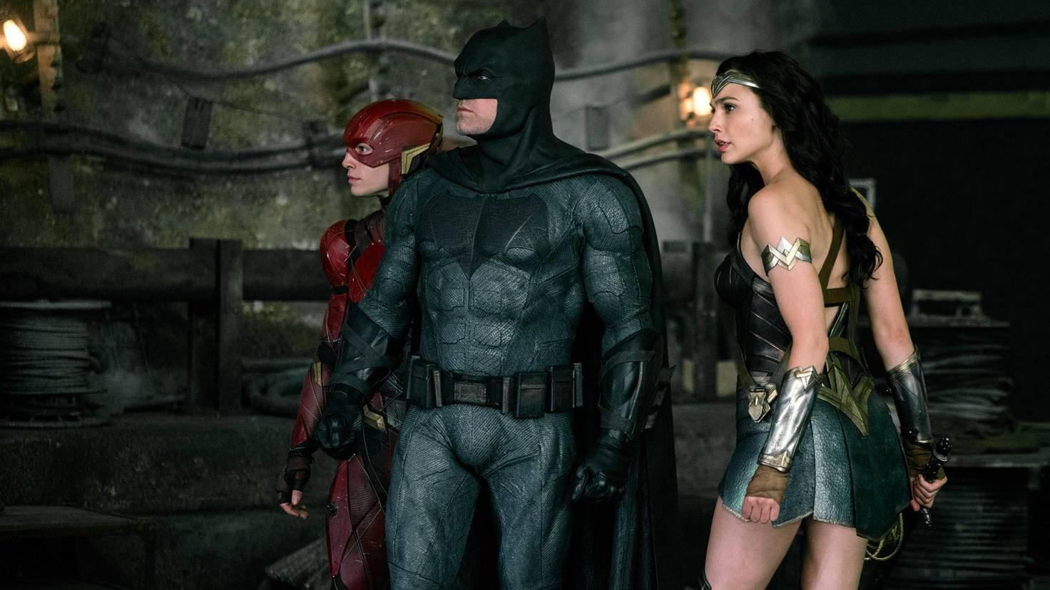 Gemeinsam müssen sich die DC-Helden Oberschurke Steppenwolf entgegenstellen.