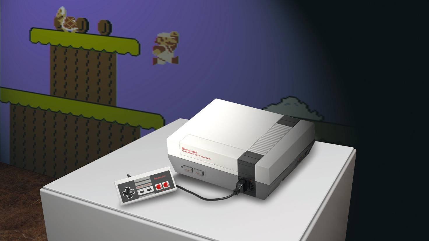 """Aufbruch in eine neue Ära: """"Super Mario Bros."""" und """"The Legend of Zelda"""" verblüfften auf dem NES mit surrealistischen Bildwelten."""