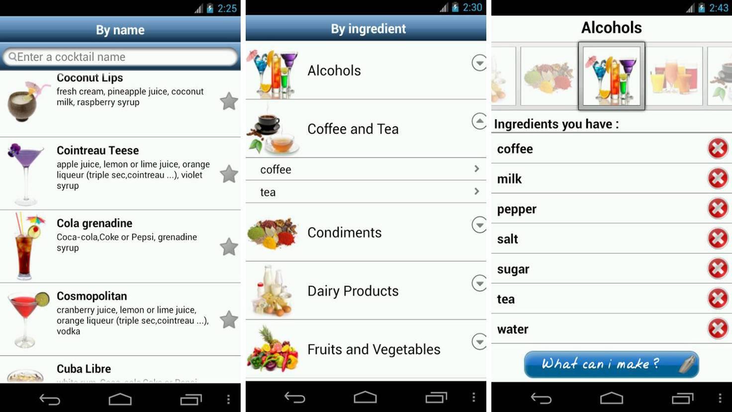 SOS Cocktail-Google PlayStore-RedaBenh