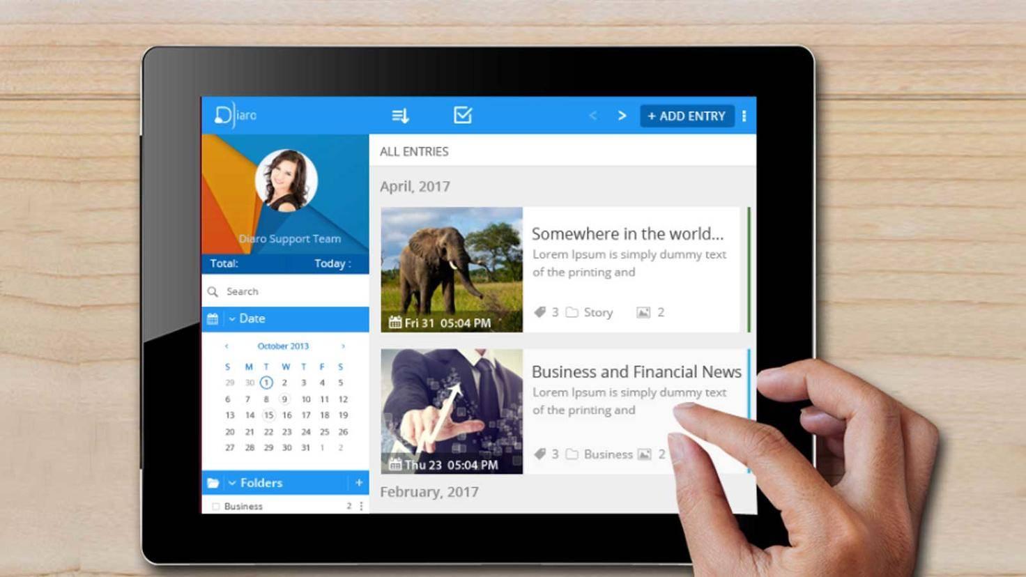 Tagebuch-Apps
