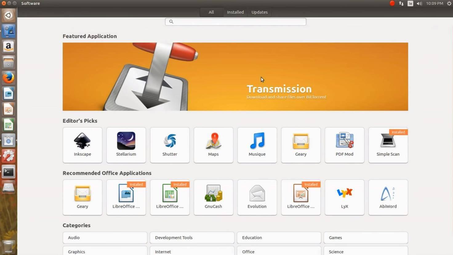 Ubuntu-Software