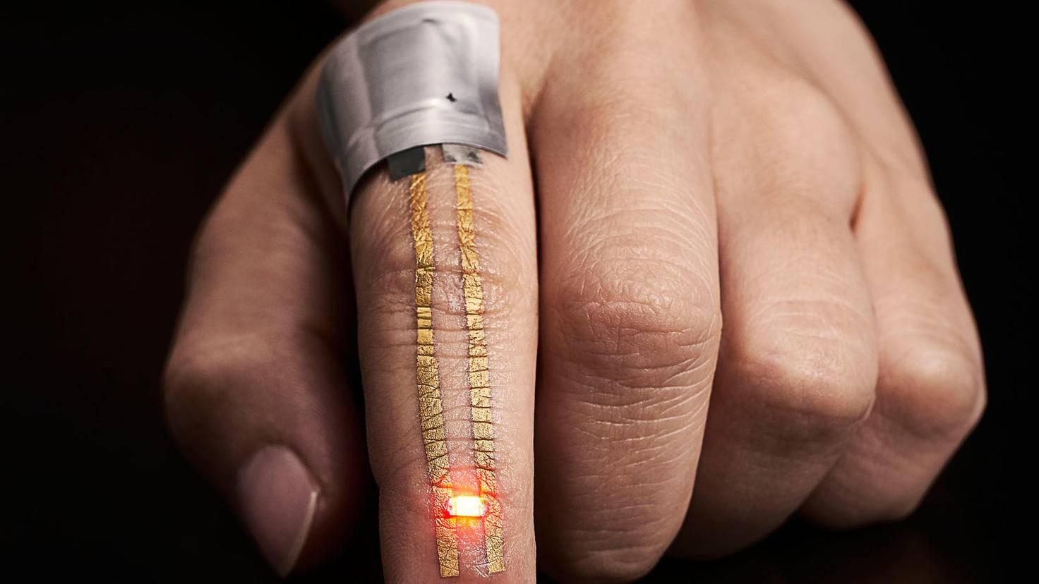 Wearable für Gesundheitskontrolle