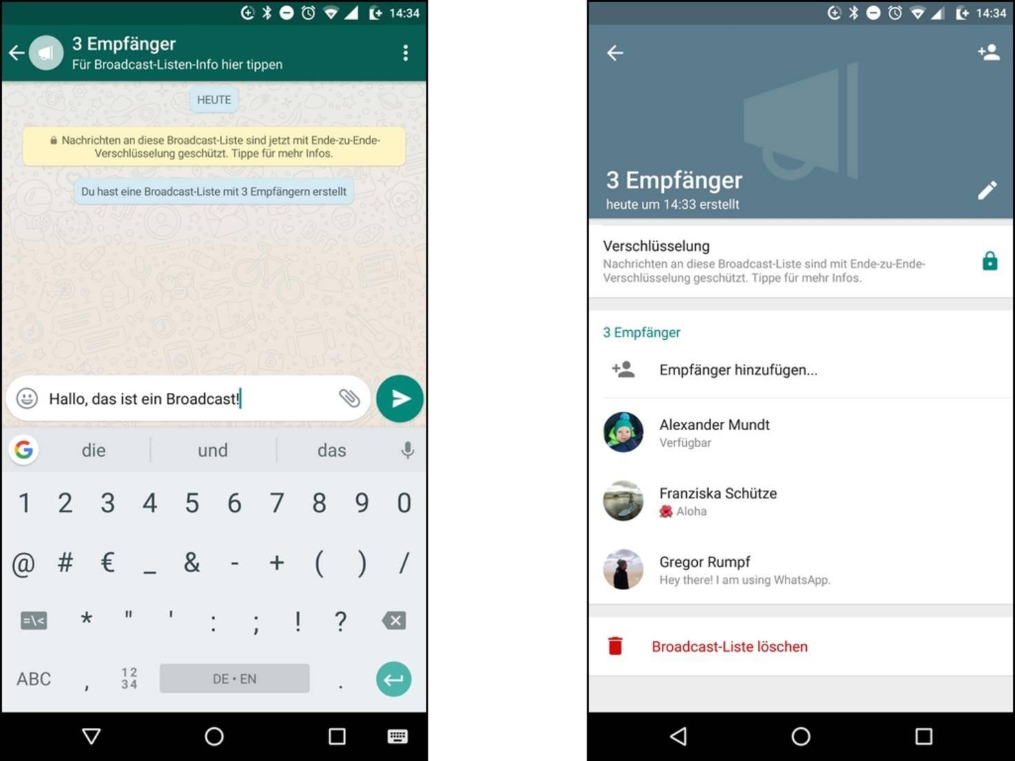 WhatsApp-Broadcast kommt nicht an? Das ist zu beachten