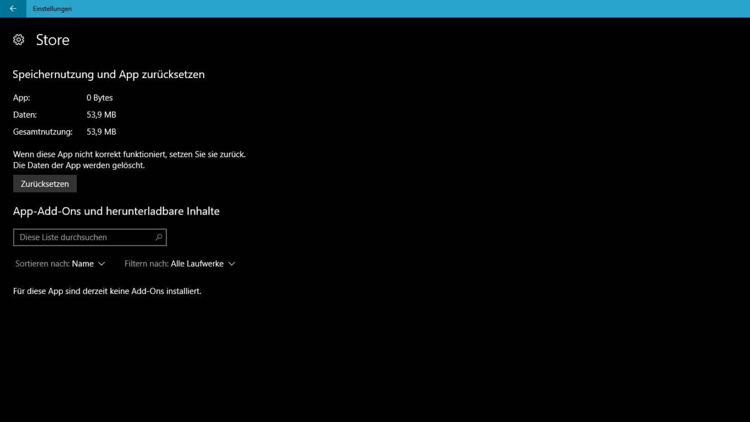 Windows-Store-Zuruecksetzen