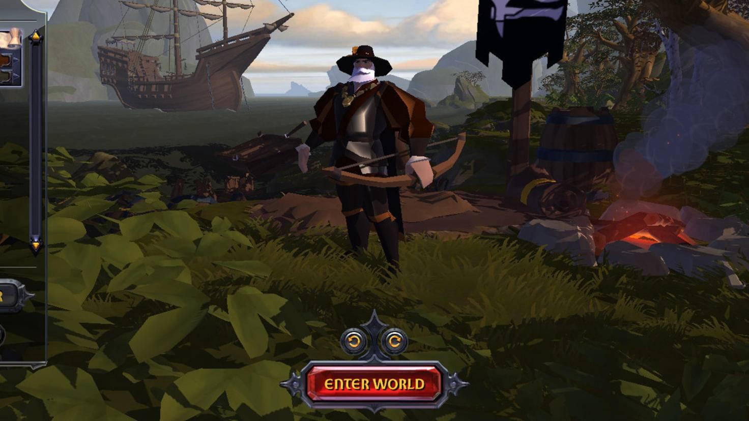 """Am Anfang von """"Albion Online"""" steht – wie bei vielen RPGs – ein Charaktereditor."""