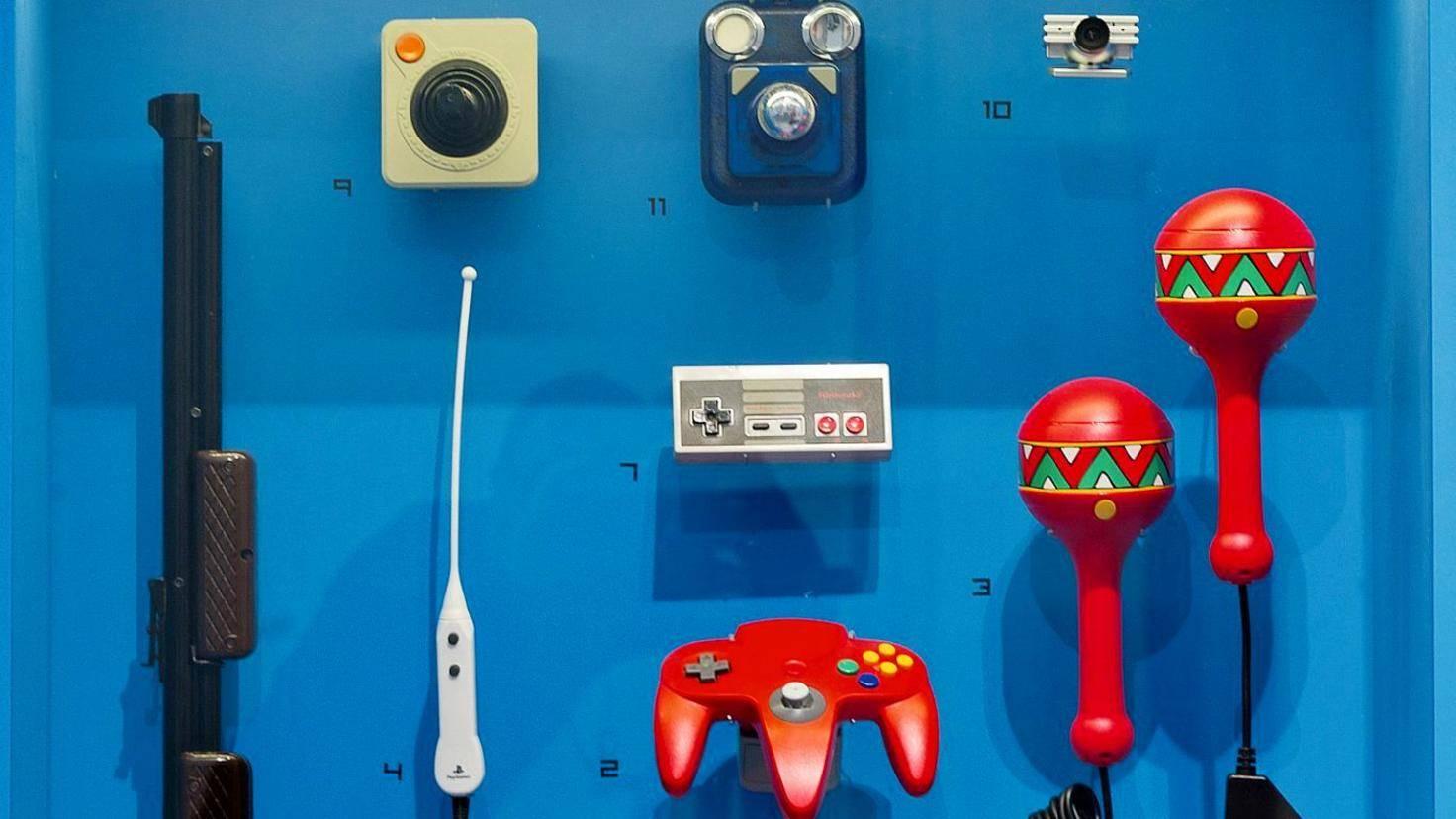 Computerspiele Museum Berlin Controller N64