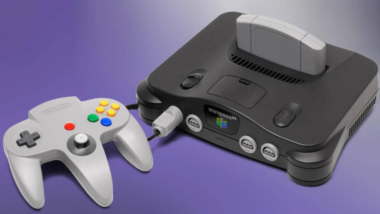 Nintendos N64 trug ihren Namen nicht zufällig – sie war eine der ersten 64-Bit-Konsolen.