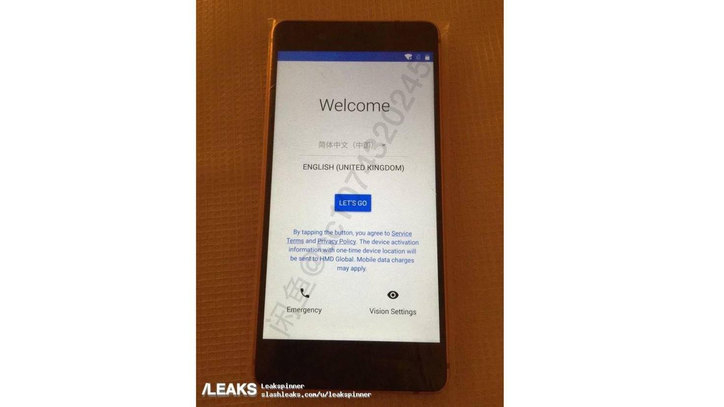 So soll das Nokia 8 eingeschaltet aussehen.