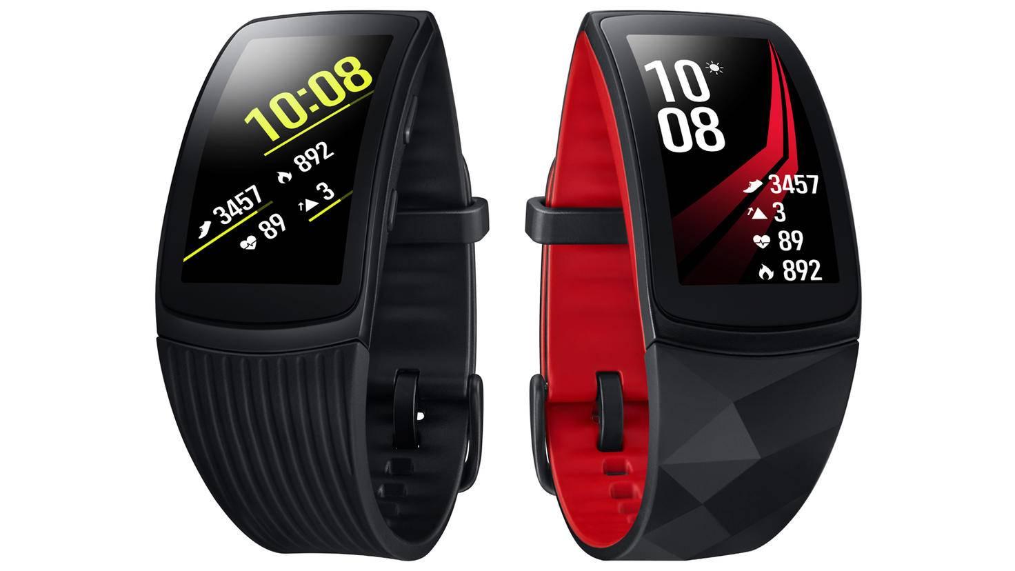 Eine minimale Verbesserung erhielt die Samsung Gear Fit 2 Pro.