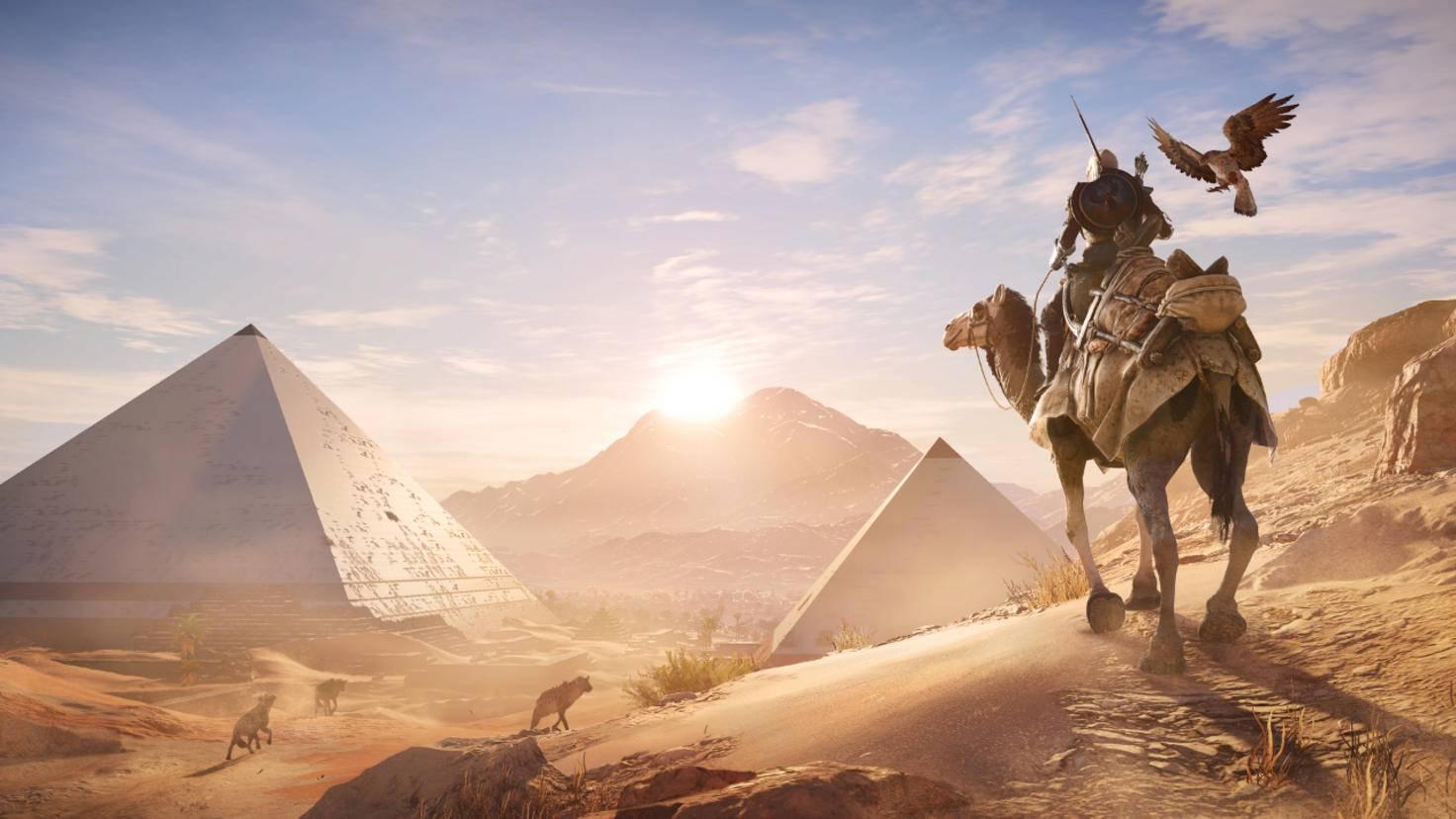 """""""Assassin's Creed: Origins"""" ist eines von vielen Spielen, die auf der Xbox One X in verbesserter Grafik und Performance erstrahlen."""