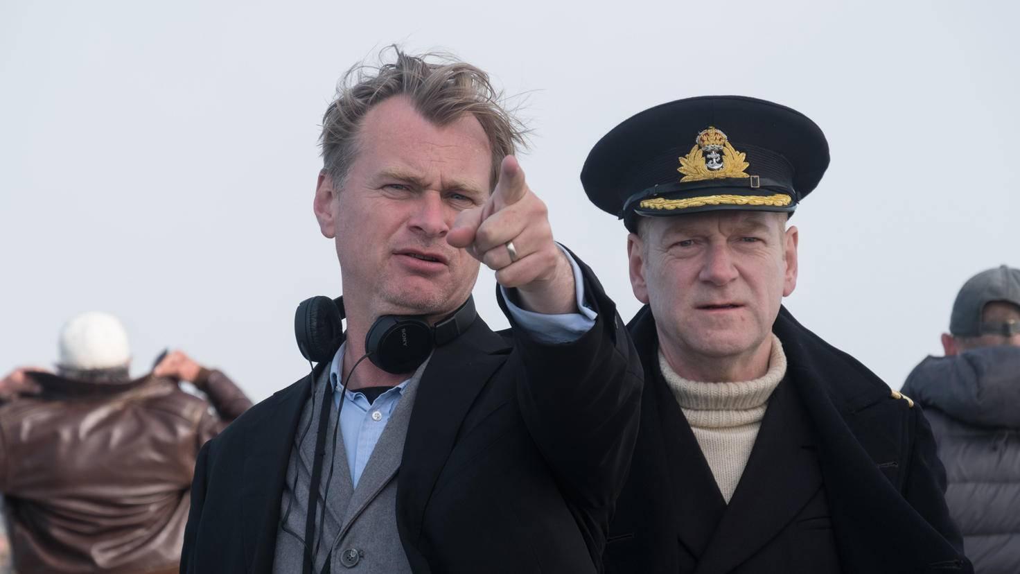 """Nach """"Dunkirk"""" arbeiten Christopher Noland (l.) und Kenneth Branagh (r.) auch in """"Tenet"""" wieder zusammen."""