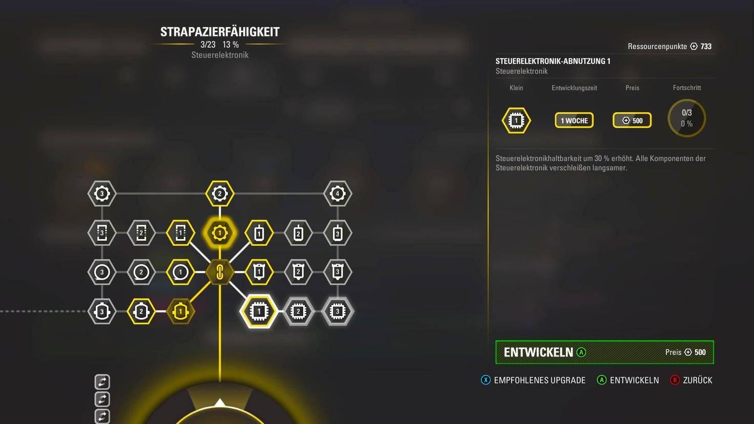 Spieler müssen sich dabei zwangsweise auf bestimmte Bereiche spezialisieren.