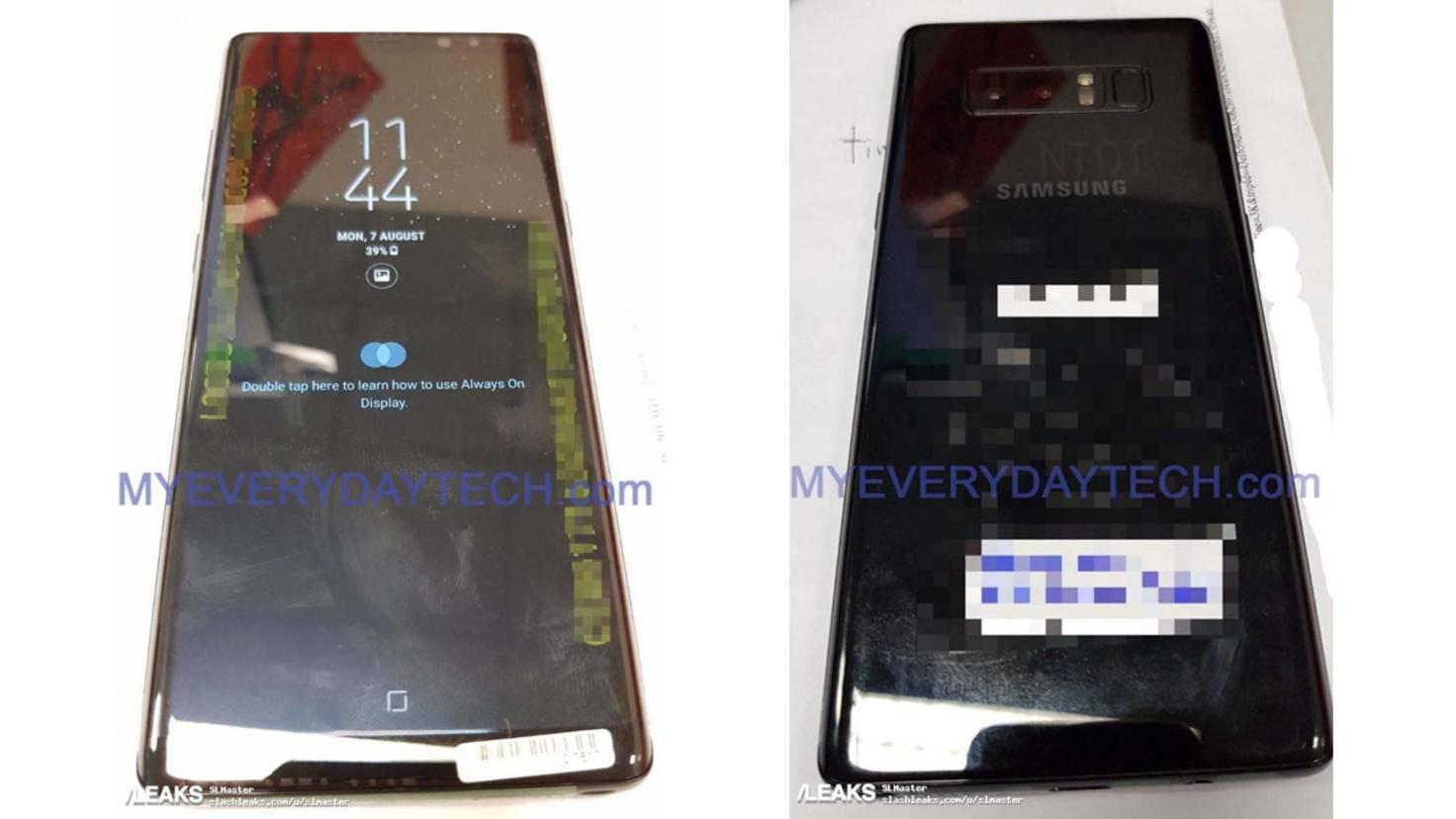 Galaxy Note 8 Leak 1