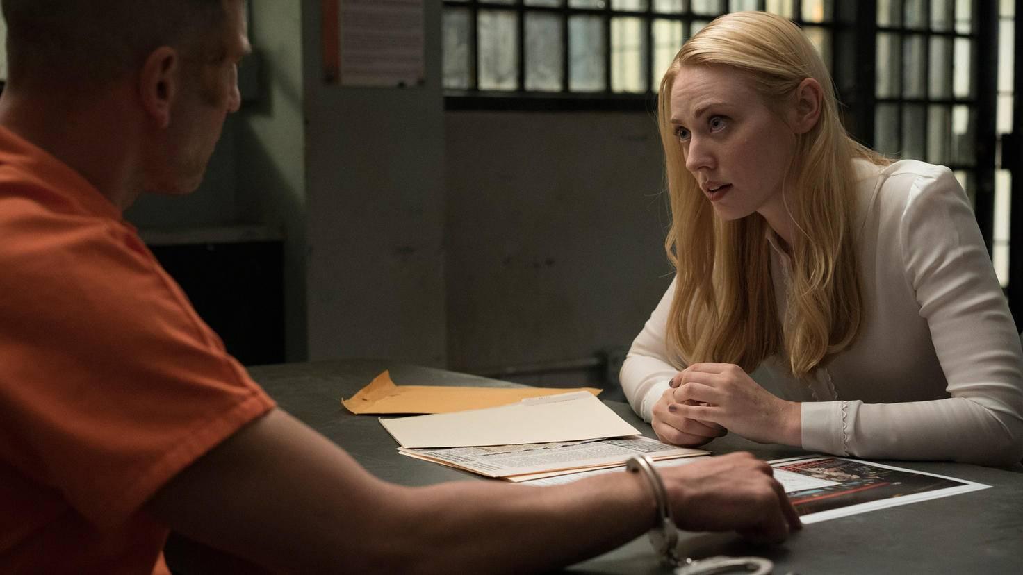 """Jon Bernthal als Punisher und Deborah Ann Woll als Karen Page in """"Daredevil"""""""