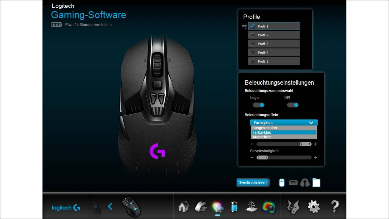 Logitech-Gaming-Software