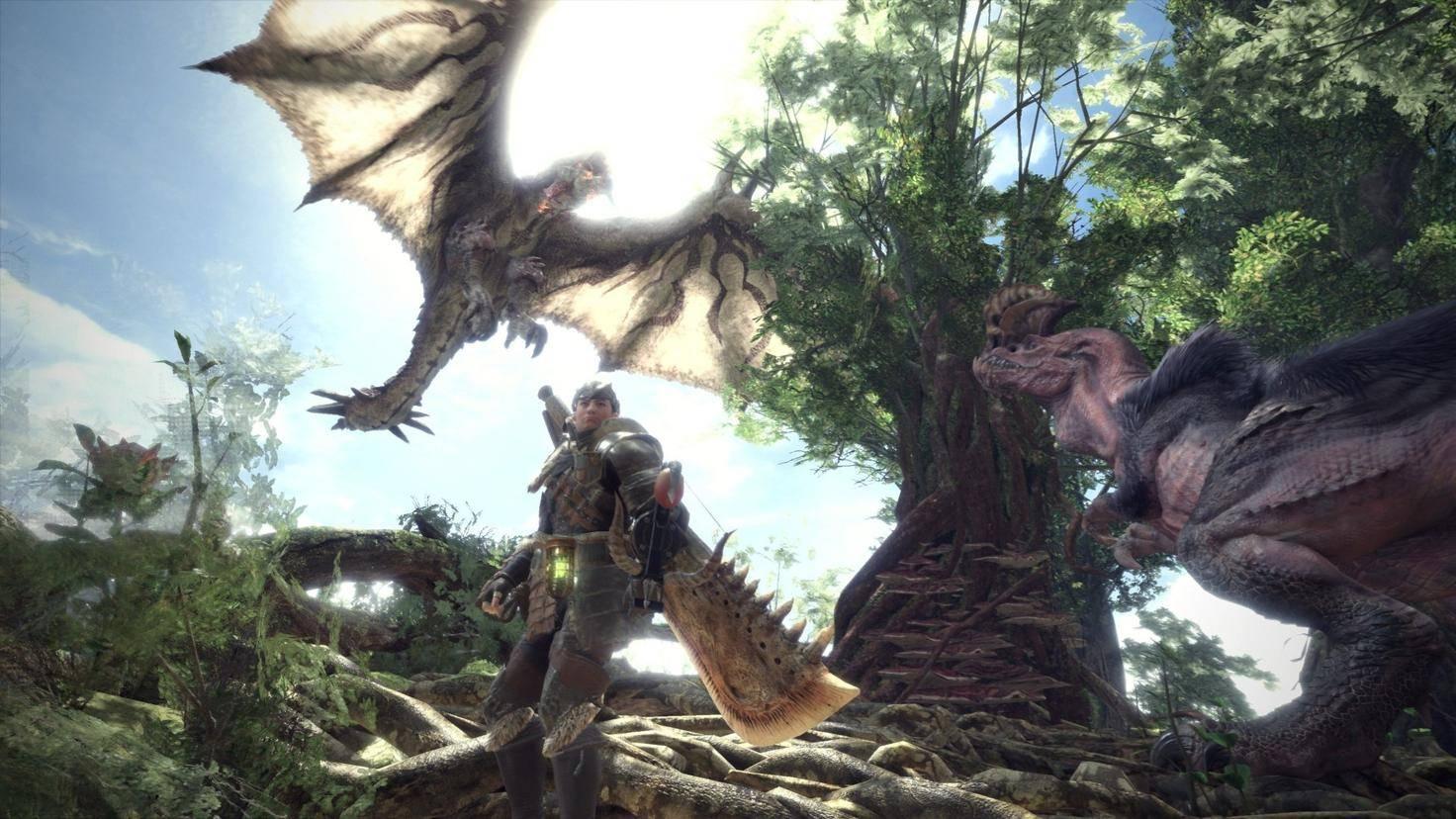 Wenn Du zwei Monster aufeinanderhetzen kannst, erleichtert das die Jagd enorm!