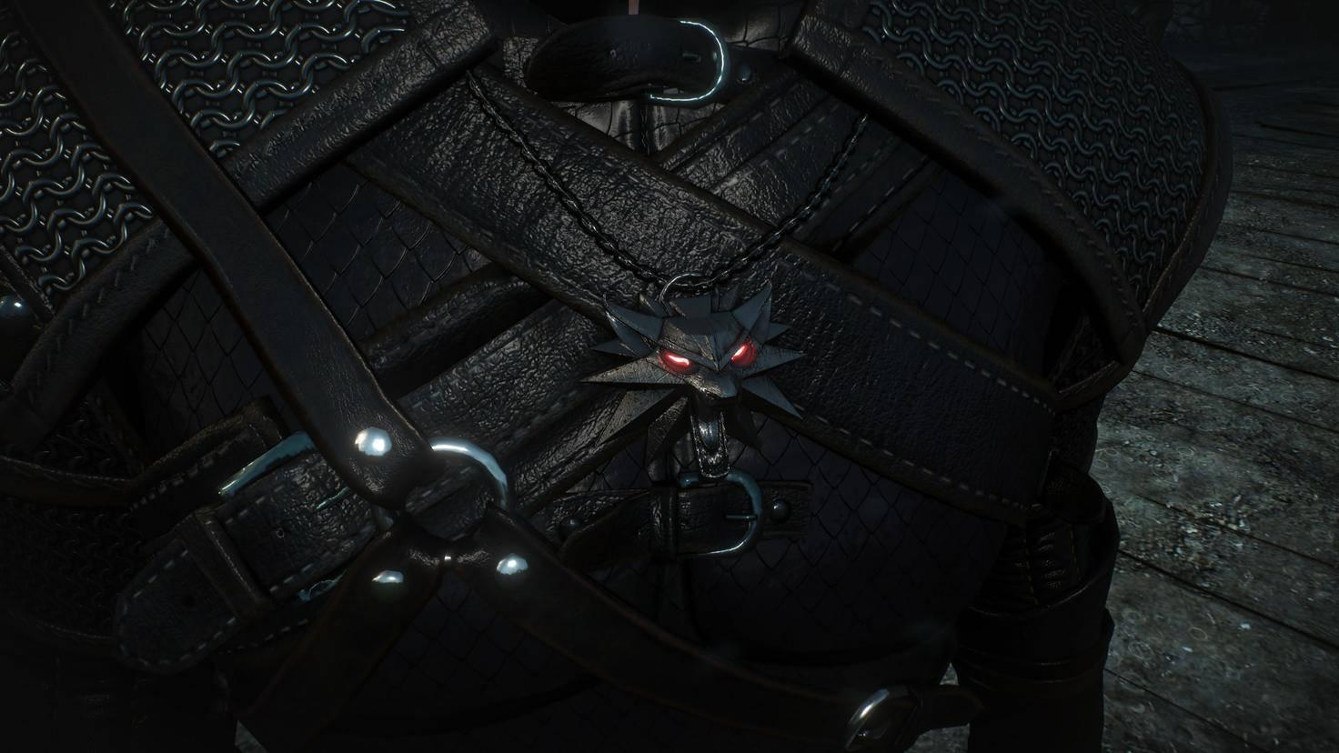 """Das Medaillon mit dem Wolfskopf gibt es sowohl in den """"The Witcher""""-Games, ..."""