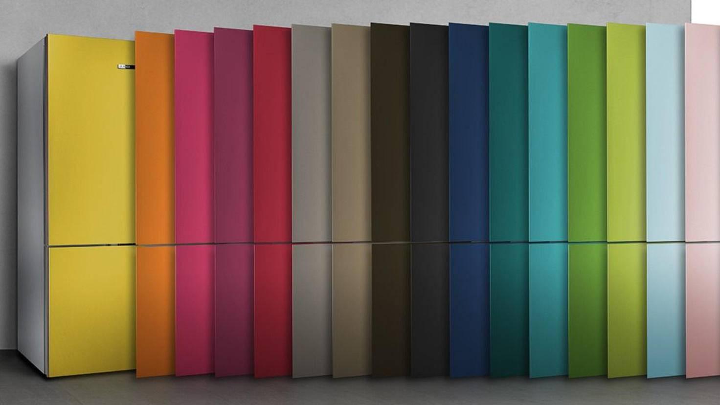 Bosch Kühlschrank 0 Grad Zone : Vario style: dieser kühlschrank wechselt im nu seine farbe