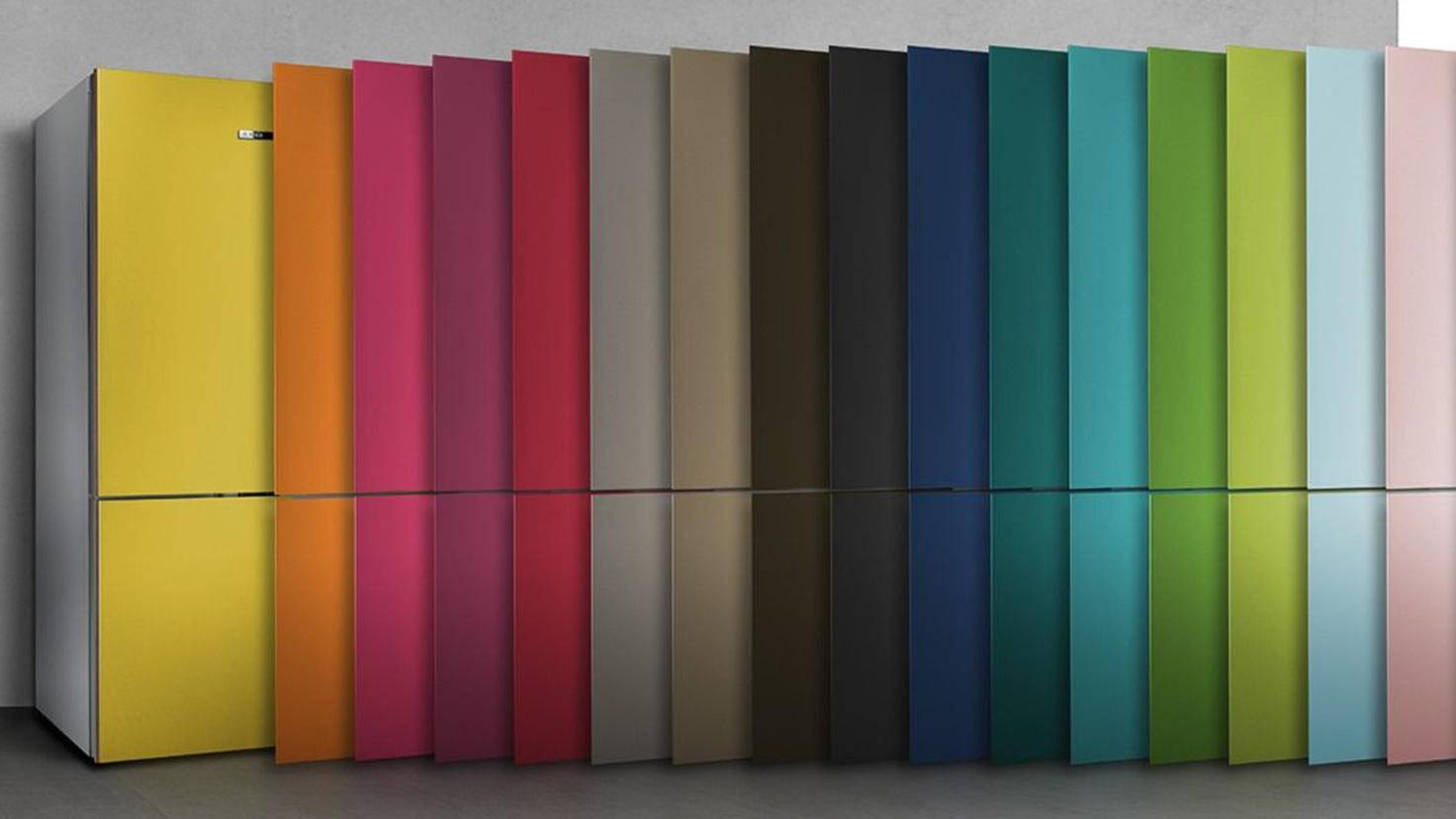 Bosch Kühlschrank Null Grad Zone : Vario style: dieser kühlschrank wechselt im nu seine farbe