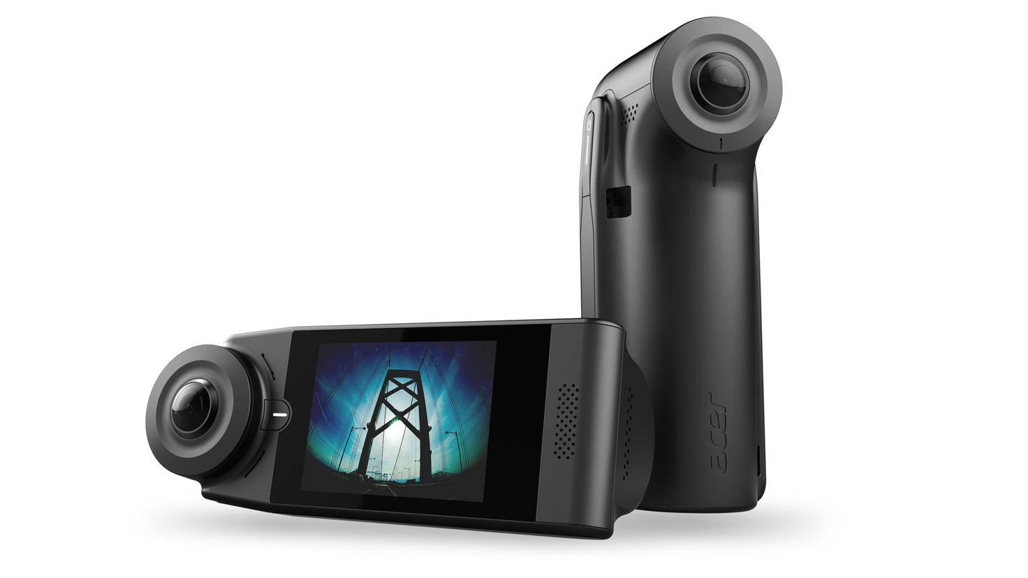 Diese 360-Grad-Kamera filmt im Auto sogar die Insassen.