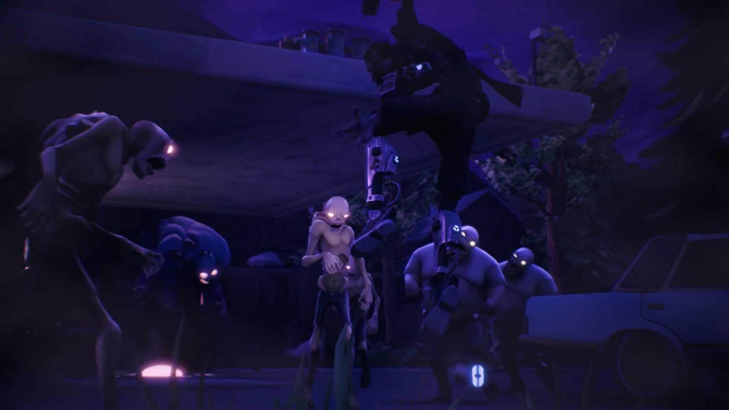 "Die Zombies in ""Fortnite"" sind nicht die hellsten..."
