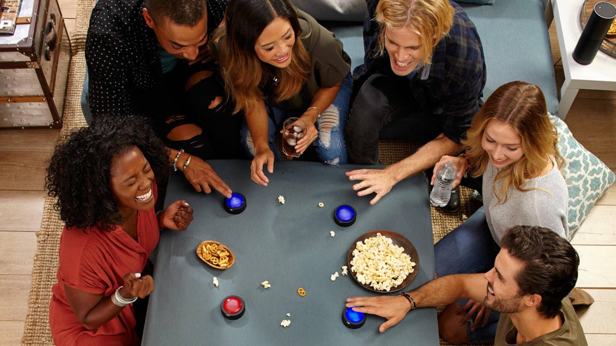 Die Echo Buttons sind als interaktives Spielzeug gedacht.