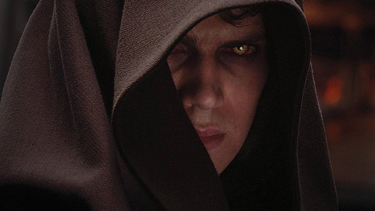 Wurde von Darth Sidious auf die Dunkle Seite der Macht gezogen: Anakin Skywalker.