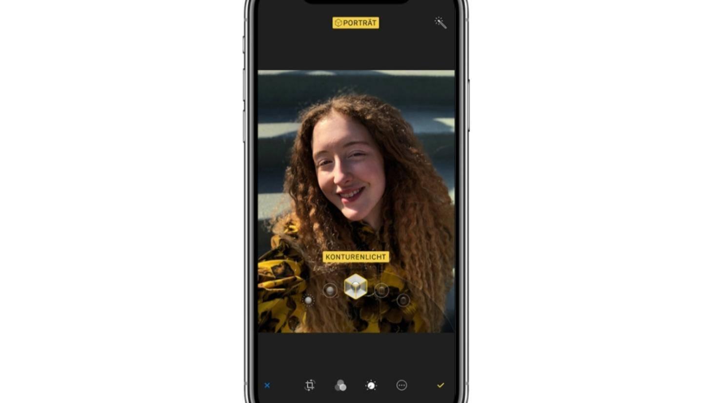 Apple-iPhoneX-Portraitlicht