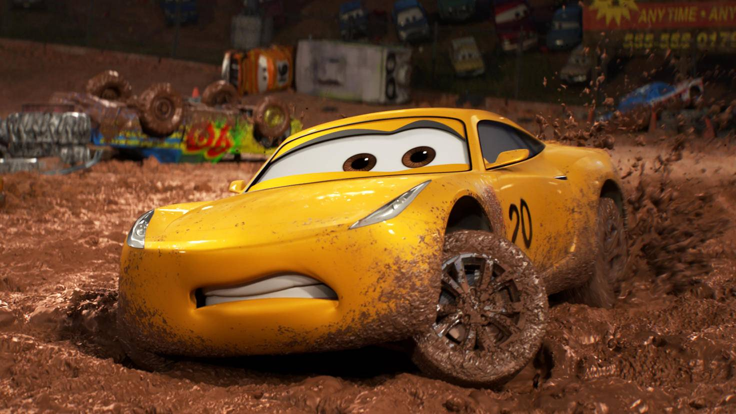 """""""Cars 3""""-Szenenbild"""