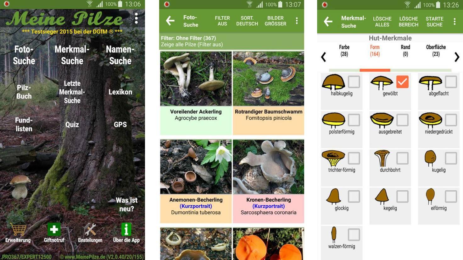 Meine Pilze-Google PlayStore-Meine Pilze