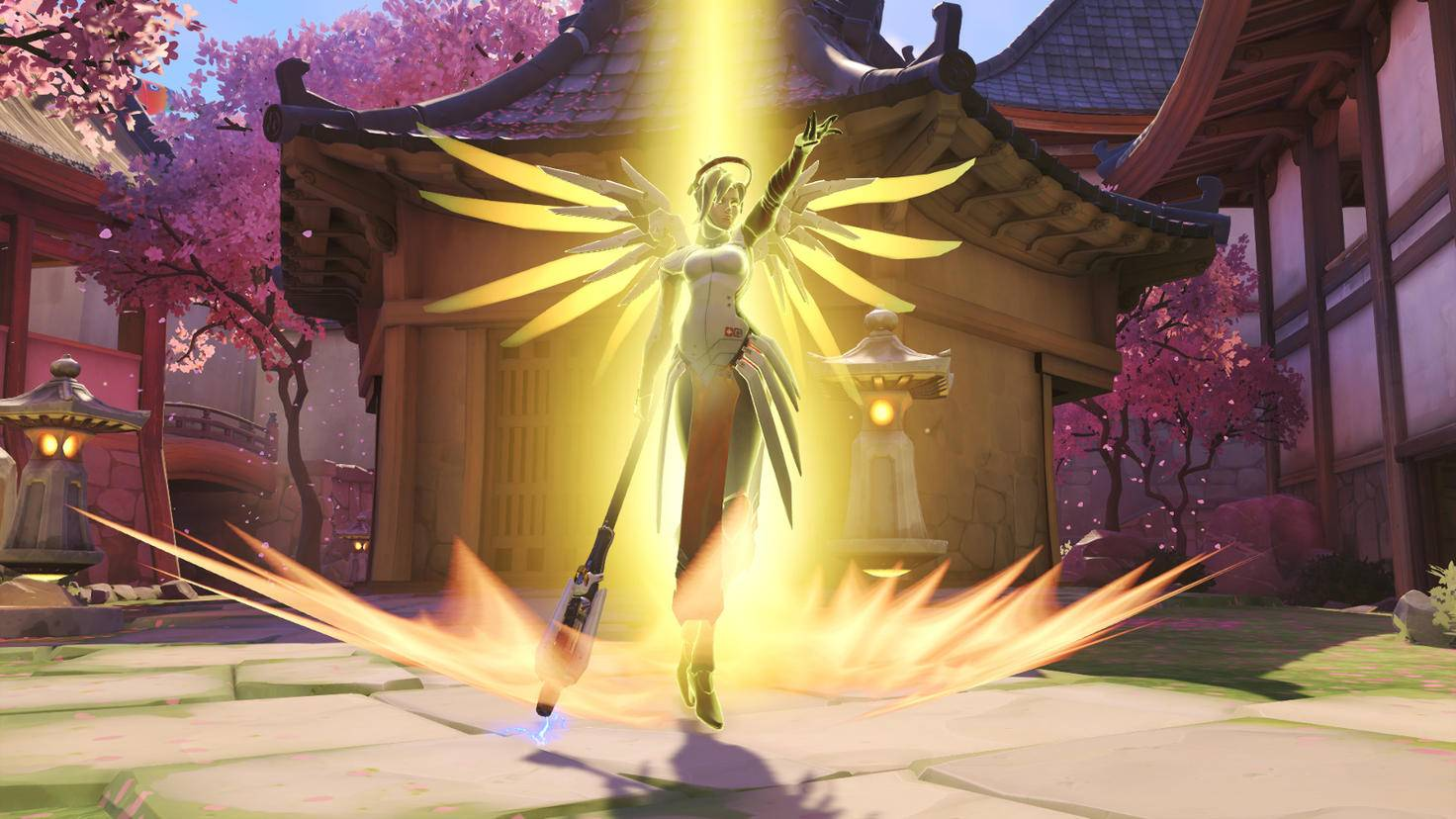 Mercy kann die Gegner im Team-Deathmatch ganz schön ärgern.