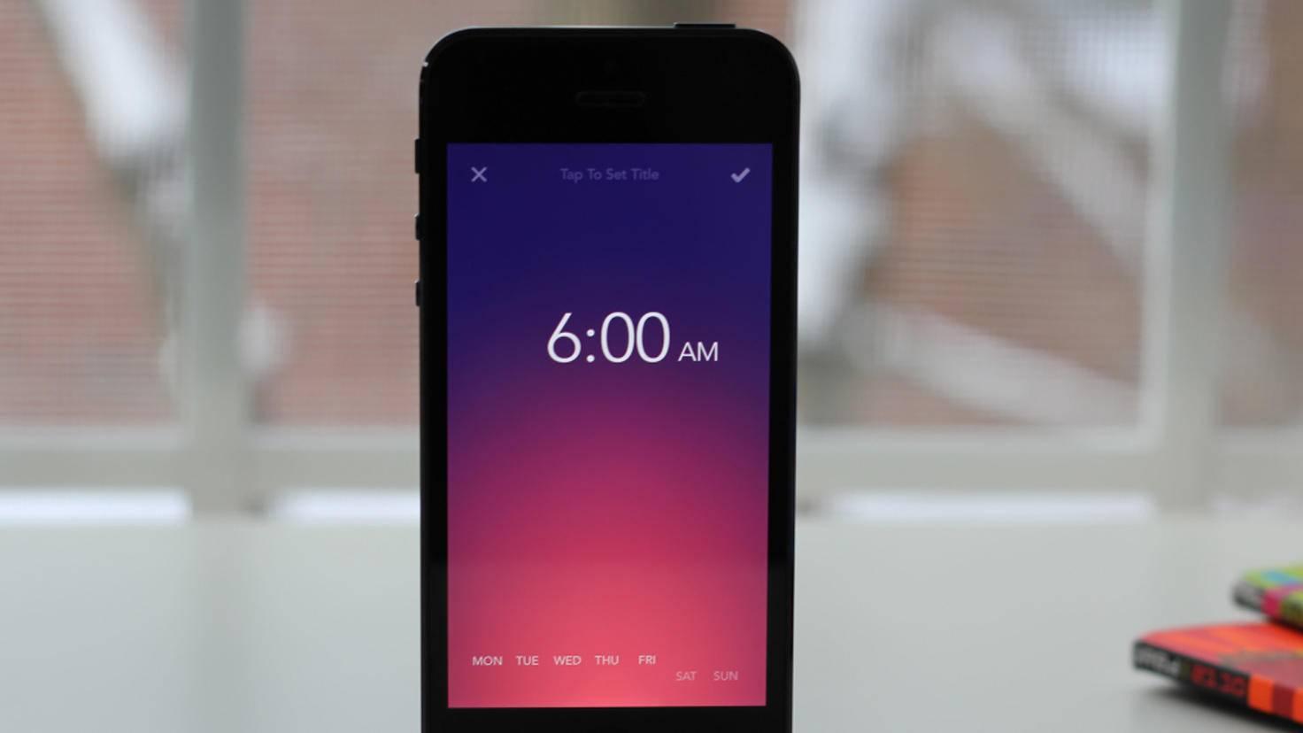 Rise Alarm Clock-simplebots