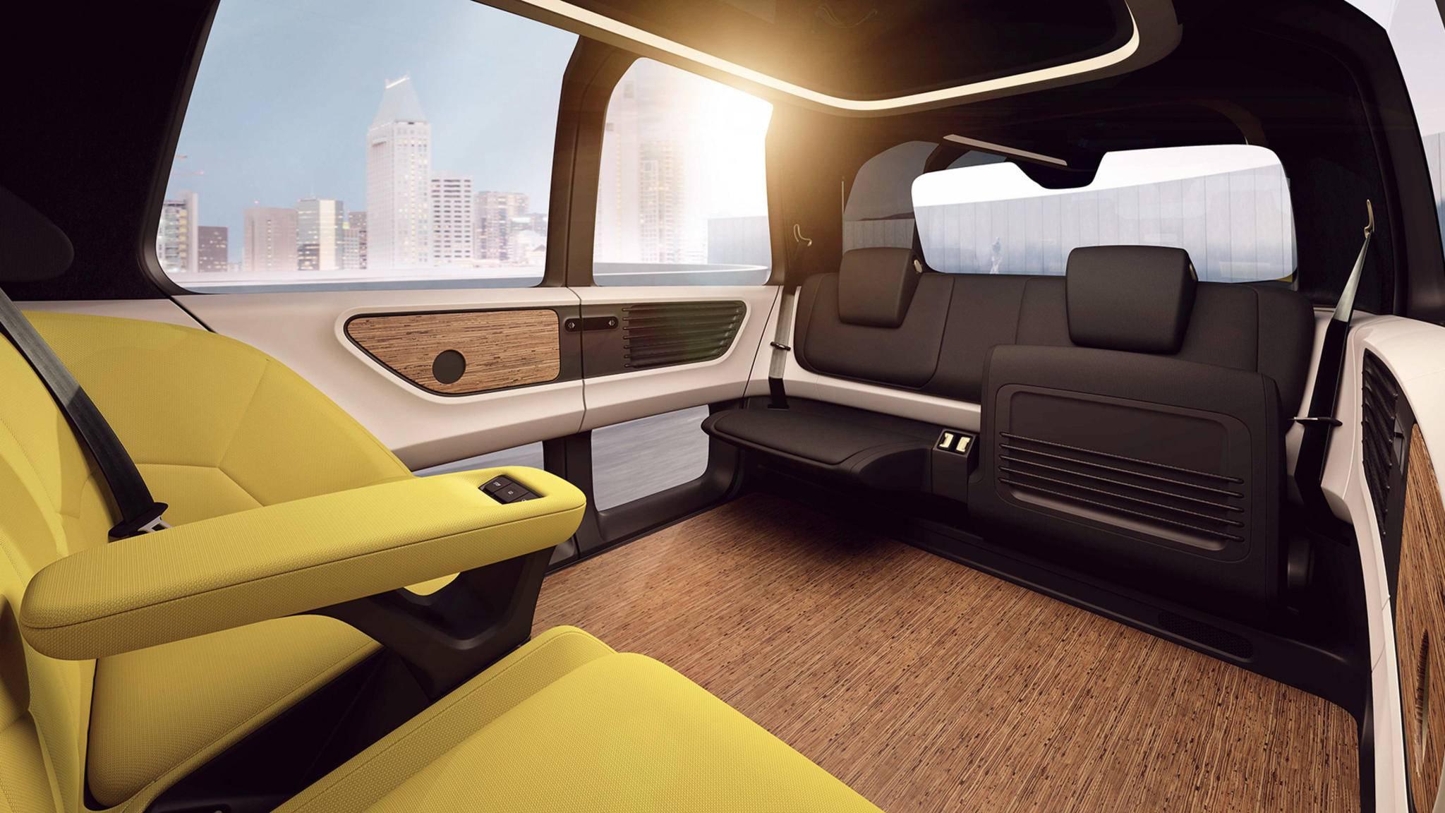 Robotaxi: Der VW Sedric kommt auf Knopfdruck ...