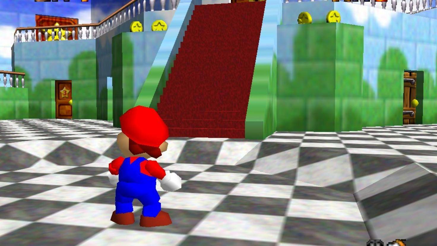 Super-Mario-64-Castle