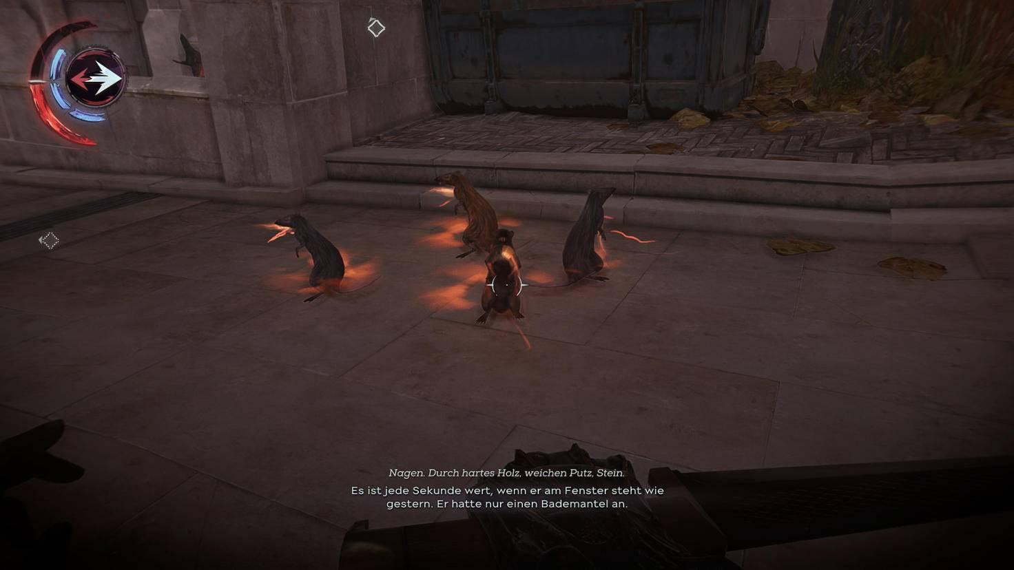 Ratten flüstern Billie kryptische Hinweise zu.