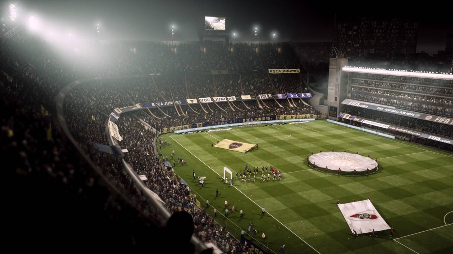Klar, auch eine üppige Optik und Stadionatmosphäre gehören zum Fußball dazu.