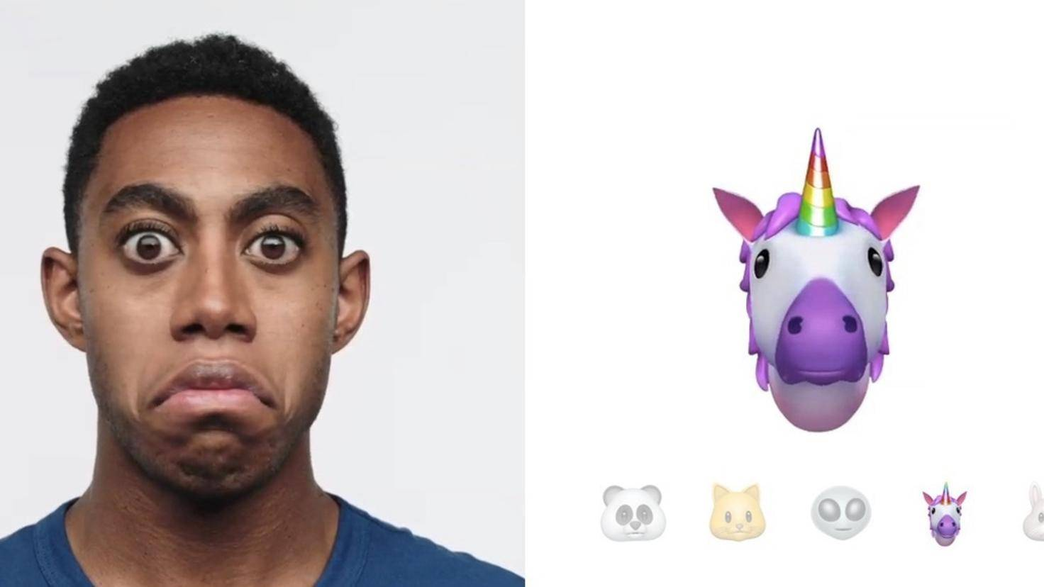 iPhone-X-Animoji-Frownicorn