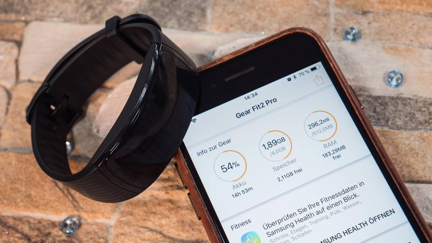 In der Samsung Gear-App wirst Du nicht nur zur Health-App geleitet ...