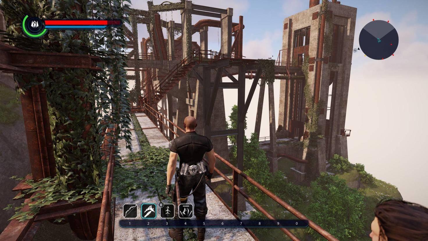 Viele Ruinen der alten Welt säumen den Weg unseres Helden.
