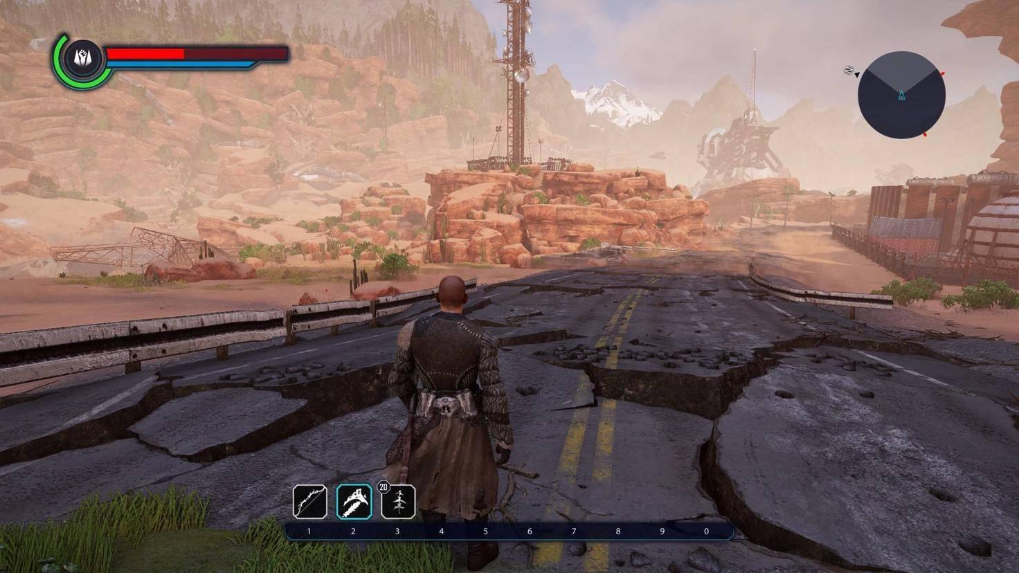 Die Outlaws leben in einer Wüstengegend.